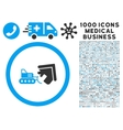 Demolition Icon with 1000 Medical Business vector image vector image