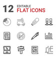 information icons vector image vector image