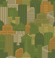 Military texture of buildings Soldier Urban green vector image