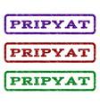 pripyat watermark stamp vector image vector image