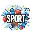 Summer Sports Concept vector image