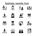 business people icon set graphic design