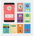 Flat Ui or UX mobile apps kit