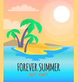 forever summer best party vector image vector image