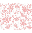 Pastel Flower texture pattern vector image vector image