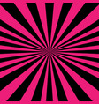 psychedelic spiral with radial rays vector image vector image