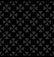tile black background or seamless dark pattern vector image