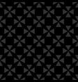 tile black background or seamless dark pattern vector image