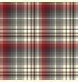 abstract tartan seamless pattern vector image vector image