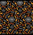 bbq party seamless pattern vector image vector image