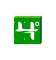 cabinet hosting server provider vector image