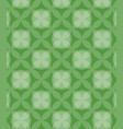 circles pattern green background vector image vector image