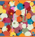 paint drops tile vector image vector image