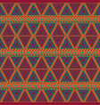tribal seamless patterns vector image vector image
