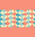 vintage seamless background retro pattern vector image vector image