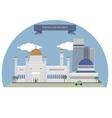 Bandar Seri Begawan vector image vector image