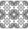 black and white ornamental greek seamless vector image