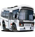 cartoon bus vector image vector image