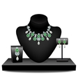 Jewelery on dummies vector image vector image