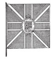 the flag of the governor-general of the british vector image vector image