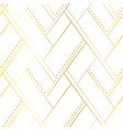 white and gold luxury seamless pattern vector image vector image