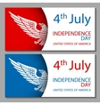 4th of July Design Objects Element Set No vector image