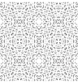 Abstract lines seamless pattern Modern stylish vector image