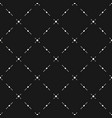 Diagonal mesh geometric seamless pattern vector image