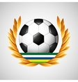 football olympic games emblem vector image vector image