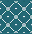 ship steering wheels and hearts seamless pattern vector image