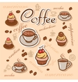 coffeeart background vector image