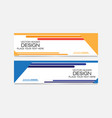 abstract banner web vector image vector image