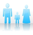 Abstract family vector image vector image