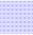 Blue seamless wavy line abstract pattern vector image