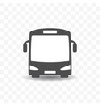 bus transportation icon design concept vector image