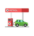 Fuel petrol station vector image vector image