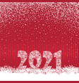 happy new year red festive curtain background vector image vector image