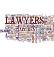 lawyers how they negotiate personal injury vector image vector image