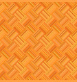 orange abstract seamless diagonal striped mosaic vector image vector image