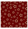 Pattern STARS R vector image