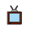 television media technology vector image vector image