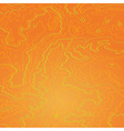 Topographic map tropic orange vector image