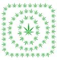 Set of Cannabis Frames vector image