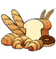 breads set vector image vector image