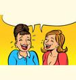 joyful girlfriends women laugh vector image vector image