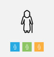 of relatives symbol on granny vector image vector image