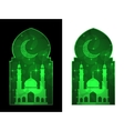 ramadan greating card vector image vector image