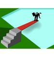 businessman taking risk vector image vector image