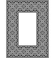 celtic border vector image vector image