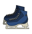 Isolated ice skate design vector image vector image